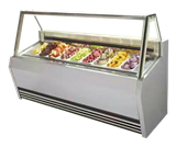 17BQ-D2单排淇淋展示柜