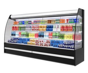 20款FM-12型外机弧形半高冷藏保鲜风幕柜