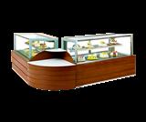 DG-DWB豪华木质直角蛋糕柜
