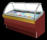 内凹型冰淇淋柜