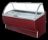 附灯箱型冰淇淋展示柜