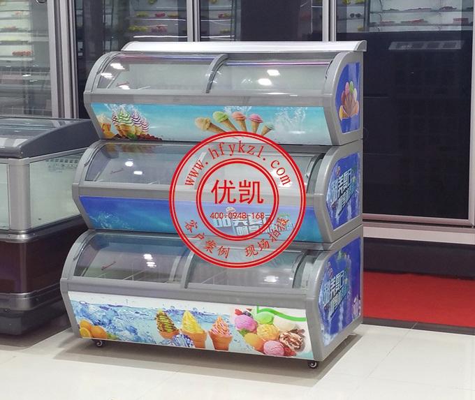 17YK-BQ连体冰淇淋冷冻柜