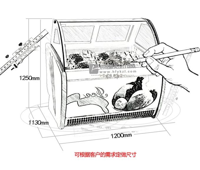 BQ-A型冰淇淋展示柜(畅销产品)