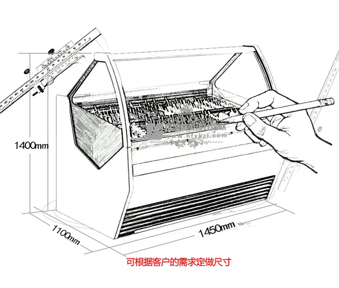 BQ-KM型冰淇淋展示柜(畅销产品)