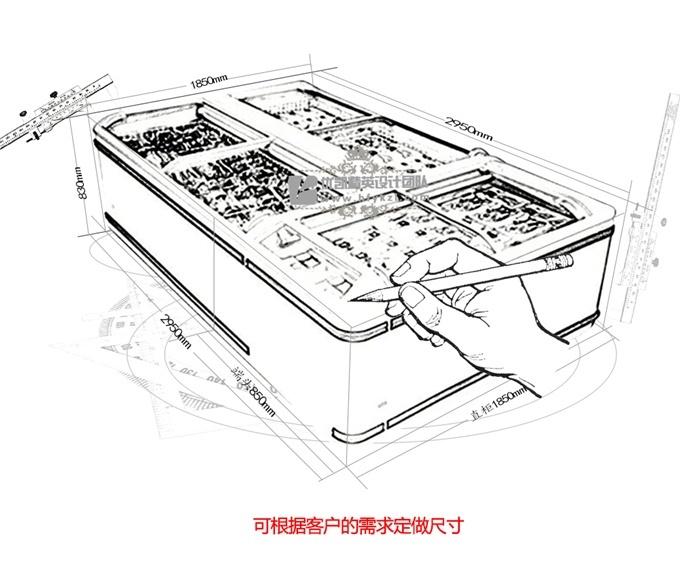 【产品名称】:DG-B型组合岛柜(厂长推荐)
