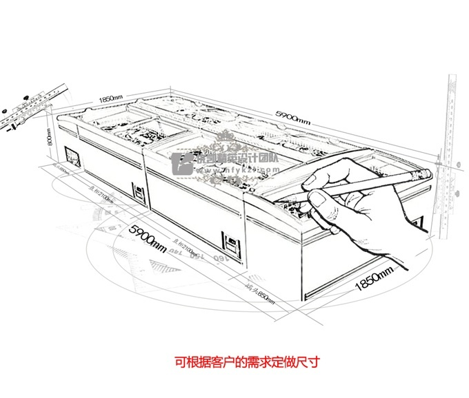 【产品名称】:DG-ZCD型组合岛柜(厂长推荐)