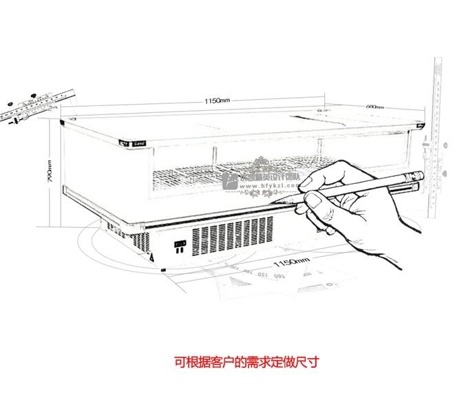 LD-C型视窗岛柜(畅销产品)
