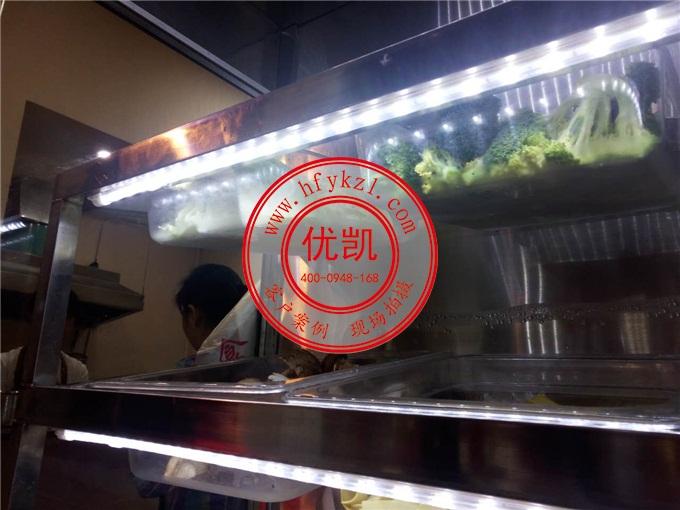 四川成都串串火锅麻辣烫点菜柜案例