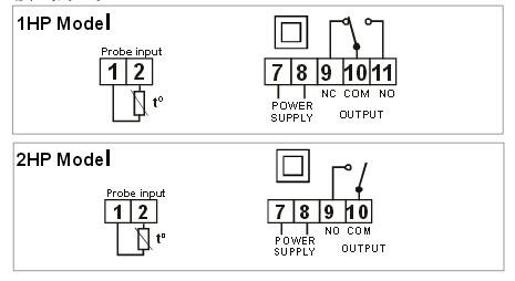 接线方式可以参照温控器表面的图示