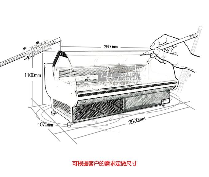 17-03-SS系列熟食展示柜