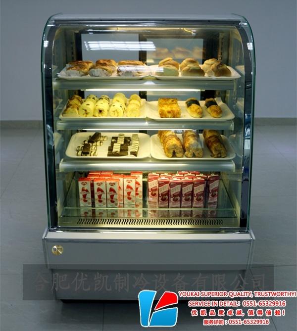 DG-A豪华弧形蛋糕柜