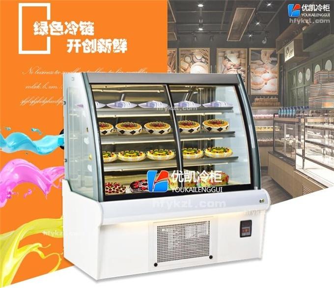 DG-E型豪华欧式前移门蛋糕展示柜