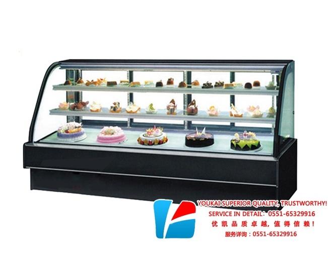 弧形蛋糕柜