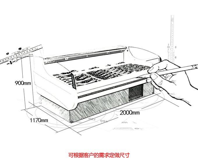XR-BA型鲜肉柜
