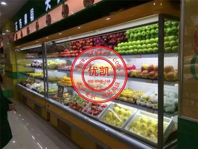 水果风幕柜案例图